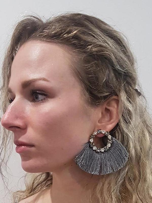 Boucles d'oreilles franges