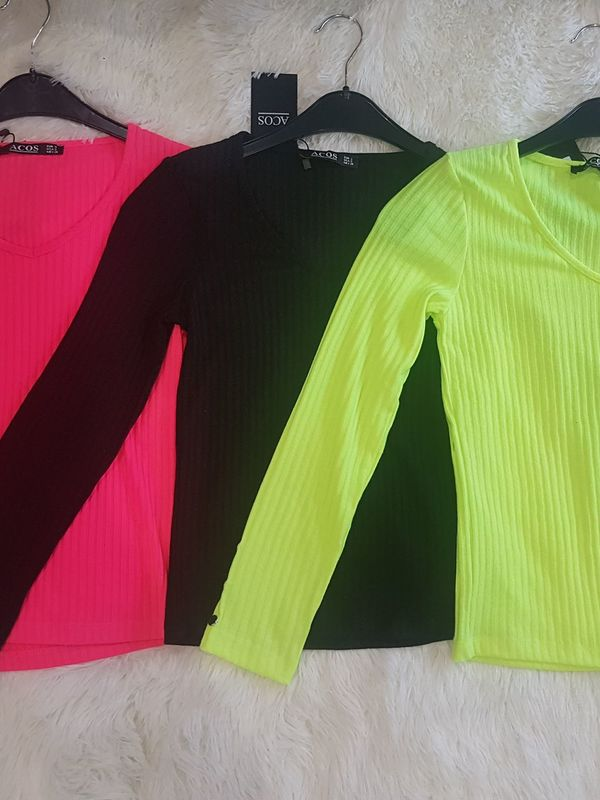 Blouse fluo