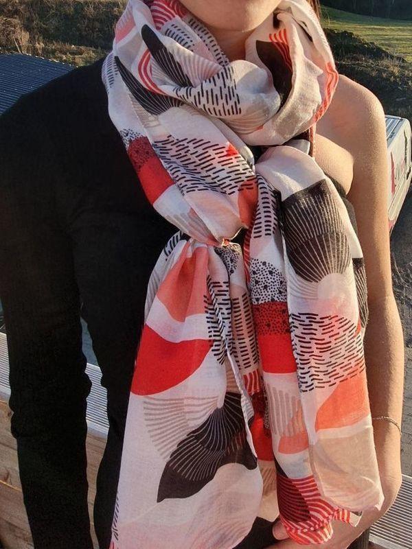 Foulard rouge REGINA